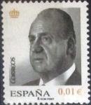 Stamps Spain -  Scott#3532 intercambio 0,25 usd, 1 cents. 2008