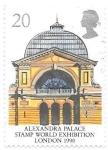 Sellos de Europa - Reino Unido -  Palacio Alexandra