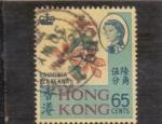 Sellos del Mundo : Asia : Hong_Kong : Isabel II