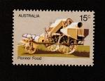 Stamps : Oceania : Australia :  Cosechadora