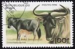 Stamps Africa - Benin -  Ñu Azul