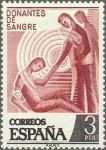 Sellos de Europa - España -  2355 - Donantes de sangre
