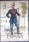 sellos de Europa - España -  Scott#2023 intercambio 0,20 usd. 4 pts. , 1977