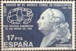 sellos de Europa - España -  Scott#2462 intercambio 0,20 usd. , 17 pts. , 1985
