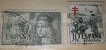 Stamps : Europe : Spain :  1951