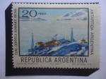 Sellos de America - Argentina -  Antartida Argentina - Estación Cientifica Brown - Serie:Argentina en la Antártida.