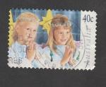 Stamps : Oceania : Australia :  Niñas rezando