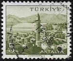 Sellos del Mundo : Asia : Turquía : Antalya 5 kurus