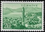 Sellos del Mundo : Asia : Turquía : Antalya 20 kurus