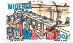Sellos de Africa - Nigeria -  oficina postal