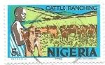Sellos de Africa - Nigeria -  ganadería