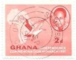 Sellos del Mundo : Africa : Ghana :  independencia