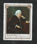 Stamps : Asia : United_Arab_Emirates :  Manama - 80 - Reina Victoria de Inglaterra