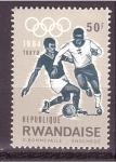 Sellos de Africa - Rwanda -  TOKIO'64