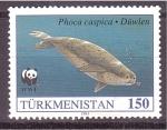 Sellos de Asia - Turkmenistán -  W.W.F.