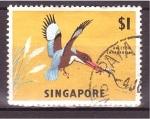 Sellos de Asia - Singapur -  serie- Fauna y flora de Singapur