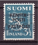 Sellos del Mundo : Europa : Finlandia :  Escudo Nacional