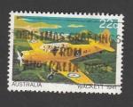 Stamps : Oceania : Australia :  Avión Wackrett 1941
