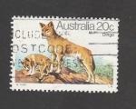 Stamps : Oceania : Australia :  Dingo