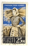 Stamps Asia - Cyprus -  FREEDOM FROM HUNGER