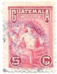 Sellos de America - Guatemala -  dia del trabajo