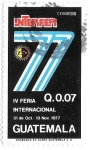Sellos de America - Guatemala -  IV feria internacional