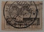Stamps : Europe : Finland :  El demonio Louhi a bordo de la nave de V