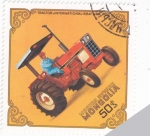 Stamps Mongolia -  TRACTOR