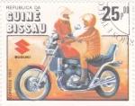 Stamps Guinea Bissau -  MOTO SUZIKI