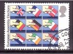 Stamps United Kingdom -  Elecciones al Parlamento Europeo