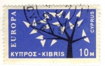 Stamps Asia - Cyprus -  EUROPA