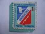 Sellos del Mundo : America : Rep_Dominicana : Pro Escuela - Emblema de la Oficina de Correos y telégrafos - Comunicaciones Postal y Telegráfica..
