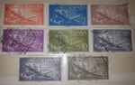 Stamps Spain -  CORREO AEREO ESPAÑOL