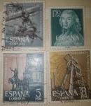 Stamps Spain -  SELLOS DE ESPAÑA