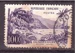 Sellos de America - Guadeloupe -  Río Sens