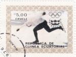 Sellos del Mundo : Africa : Guinea_Ecuatorial : OLIMPIADA INNSBRUCK'76