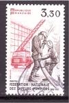 Stamps France -  Centenario Federación Nacional de Bomberos