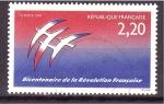 Sellos de Europa - Francia -  Bicentenario revolución francesa
