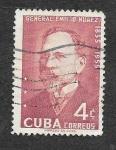 sellos de America - Cuba -  549 - Centenario del Nacimiento del General Emilio Nuñez