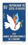 Sellos del Mundo : Africa : Costa_de_Marfil :  año internacional del niño