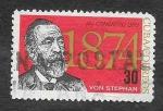 Stamps Cuba -  836 - XV Congreso de la UPU