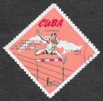 Sellos del Mundo : America : Cuba :  1040 - VII Aniversario del Campeonato Internacional de Atletismo