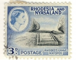Stamps Africa - Zambia -  RHODES'S GRAVE MATOPOS