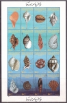 Stamps : Africa : Libya :  Conchas