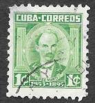 Stamps Cuba -  519 - José Martí