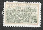 Sellos de America - Cuba -  799 - X Aniversario de la Revolución