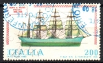 Stamps Italy -  BARCOS.  CORBETA  GABIANO.
