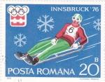 Sellos de Europa - Rumania -  OLIMPIADA INNSBRUCK'76