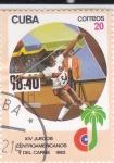 Stamps : America : Cuba :  JUEGOS CENTROAMERICANOS Y DEL CARIBE