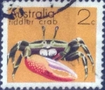 Stamps : Oceania : Australia :  Scott#555 , nf4b intercambio 0,20 usd, 2 cents. , 1973